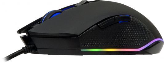 Мышь MARVO M302G Black USB оптическая, 3200 dpi, 5 кнопок + колесо цена и фото
