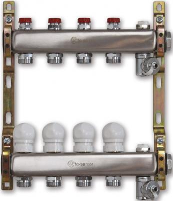 "220A2-06-04D Te-Sa Коллектор в сборе 1"" 4 выхода под евроконус цены онлайн"