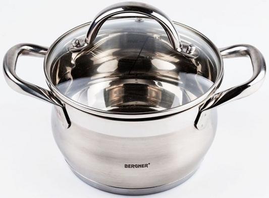 Кастрюля Bergner BG-9500L-MM Gourmet 2,5 л термос bergner bg 7483 mm
