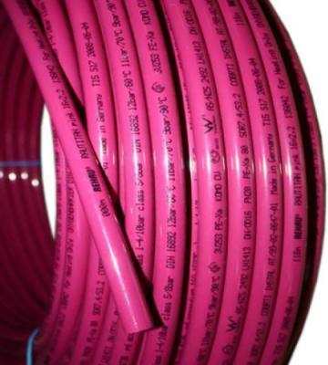 Фото - Отоп. труба RAUTITAN pink 32х4,4 мм, бухта 50 м муфта внутренняя двухраструбная шумопоглашающая 50 мм rehau raupiano plus