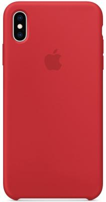 iPhone XS Max Silicone Case - (PRODUCT)RED protective silicone case for nissan 2 3 button remote key red