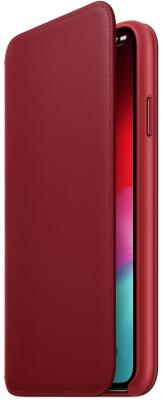 iPhone XS Max Leather Folio - (PRODUCT)RED carprie new universal folio leather stand cover case for 10 10 1 inch android tablet pc 18feb26 drop ship f