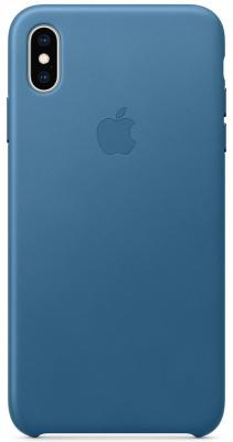 iPhone XS Max Leather Case - Cape Cod Blue fashion 360 rotating case for ipad pro 12 9 inch litchi leather stand back cover apple fundas