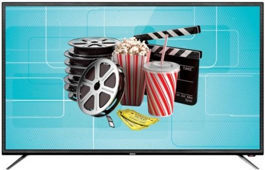 цена на Телевизор LED 43 BBK 43LEX-7027/FT2C черный 1920x1080 60 Гц Wi-Fi RJ-45