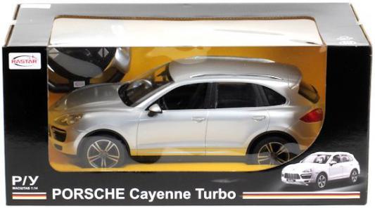 Машинка на радиоуправлении RASTAR Porsche Cayenne Turbo пластмасса, металл в ассортименте дефлекторы на окна voron glass corsar volkswagen touareg i 2002 2010 porsche cayenne 2002 2007 комплект 4шт def00547