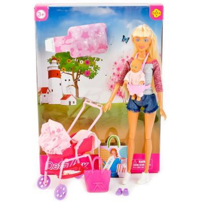 Набор кукол DEFA LUCY МАМА+РЕБЕНОК 33 см 8380-DEFA defa lucy набор из 2 х кукол в зоопарке 11 см 14 см defa lucy