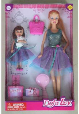Набор кукол DEFA LUCY МАМА+ДОЧЬ 32 см 8304A lucy lord vanity