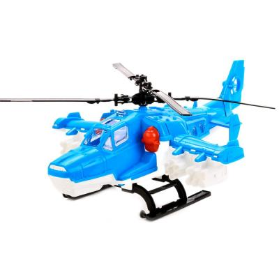Вертолет Нордпласт ПОЛИЦИЯ голубой 248 viking toys вертолет джамбо полиция