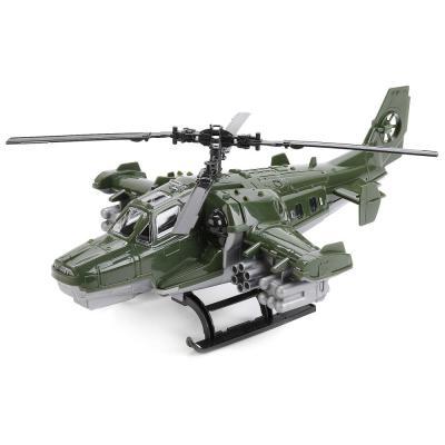 Вертолет Нордпласт ВОЕННЫЙ камуфляж 247 конструкторы banbao defence force военный вертолет 29 элементов