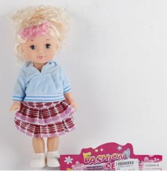 Купить Кукла Shantou Fashion 20 см, пластик, текстиль, Классические куклы и пупсы