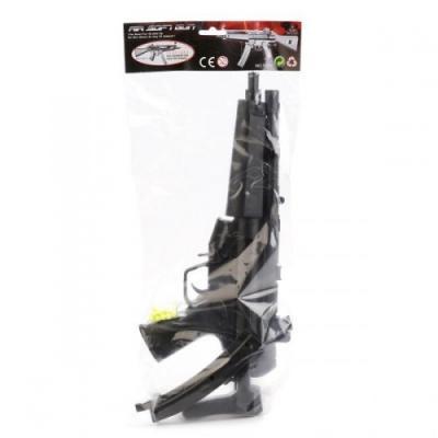 Купить Автомат Shantou Gepai ts50 черный 1B00134, 45х19х5 см, для мальчика, Игрушечное оружие