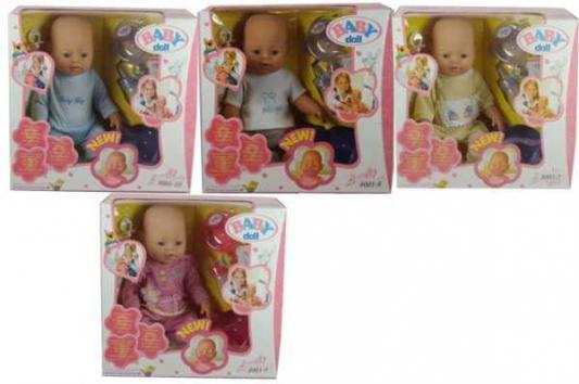 Пупс Shantou 8001/ 8001-2/4/9/10 43 см писающая пьющая B552787 (8) кукла shantou gepai my baby 30 см со звуком пьющая писающая