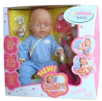 Пупс Shantou ПУПС 43 см писающая пьющая B1406472 кукла shantou gepai my baby 30 см со звуком пьющая писающая