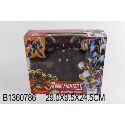Купить Робот-трансформер Shantou Gepai Fighters с аксессуарами B1360786 в ассортименте, Игрушки Роботы