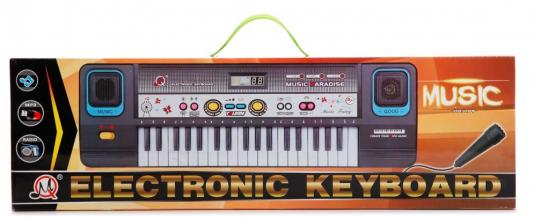Купить Музыкальный инструмент Shantou Синтезатор, черный/белый, Детские музыкальные инструменты