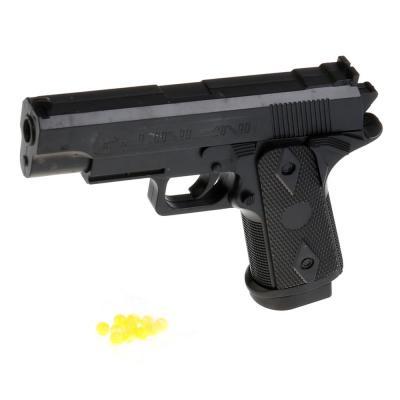 Пистолет Shantou Gepai ПИСТОЛЕТ черный 1B00820 пистолет shantou gepai desert eagle серый прицел гелевые пули usb зарядка 635448