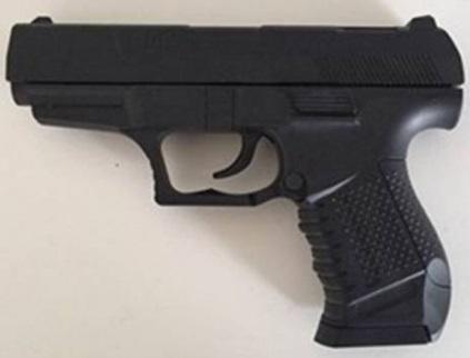 Купить Пистолет Shantou Gepai ПИСТОЛЕТ (П) P99 черный, 3 x 19 x 13 см, для мальчика, Игрушечное оружие