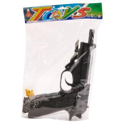 Пистолет Shantou Gepai ПИСТОЛЕТ черный 1B00209 пистолет shantou gepai desert eagle серый прицел гелевые пули usb зарядка 635448