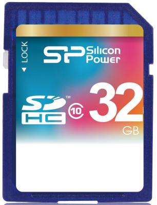 Карта памяти SDHC 32Gb Silicon Power Class10 silicon power sdhc 8gb class10 sdhc 8гб class 10