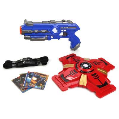 Набор Shantou Gepai ПИСТОЛЕТ+ЩИТ синий красный черный B1639344 пистолет shantou gepai 1402b синий 1404g519