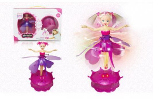 Купить Кукла Shantou Летающая кукла 20 см со звуком светящаяся летающая 1605F374, пластик, Интерактивные куклы