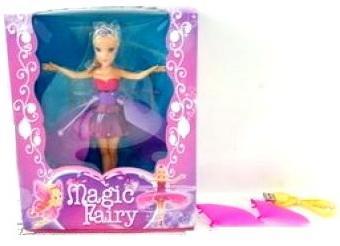 Кукла Shantou Magic Fairy со звуком светящаяся летающая magic flying fairy toy