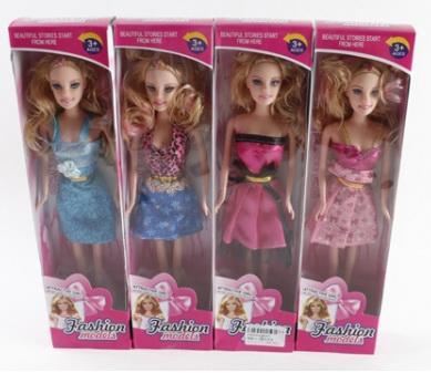 Купить Кукла Shantou Fashion 29 см, пластик, текстиль, Классические куклы и пупсы