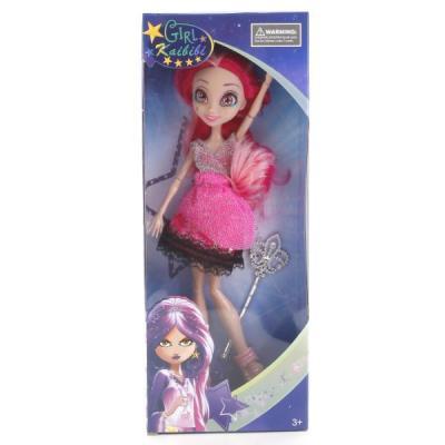 Кукла Shantou КУКЛА 29СМ, ГНУЩАЯСЯ 29 см шарнирная куклы lisa jane кукла шарнирная света 28 см
