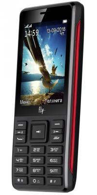 Мобильный телефон Fly TS114 черный мобильный телефон fly ff281 черный