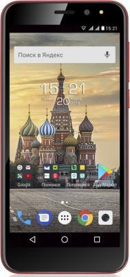 Смартфон Fly Life Compact 3G 8 Гб красный