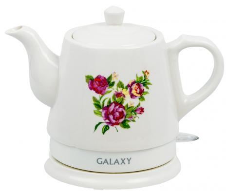 Чайник электрический GALAXY GL0502 1400 Вт белый 1 л керамика стоимость