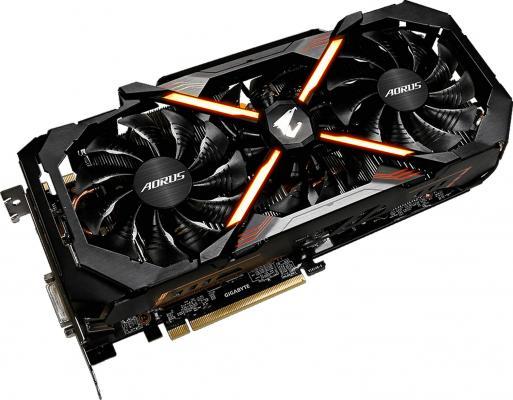 Видеокарта 11264Mb Gigabyte GeForce GTX1080Ti PCI-E HDMI DP DVI HDCP GV-N108TAORUS-11GD Retail из ремонта видеокарта 11264mb inno3d geforce gtx 1080 ti gaming oc pci e 352bit gddr5x dvi hdmi dp hdcp n108t 1sdn q6mnx oem из ремонта