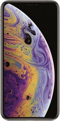 Смартфон Apple iPhone XS 64 Гб серебристый (MT9F2RU/A) смартфон apple iphone xs 64 гб серебристый mt9f2ru a