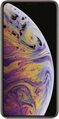 Смартфон Apple iPhone XS Max 64 Гб серебристый (MT512RU/A) смартфон apple iphone xs 64 гб серебристый mt9f2ru a