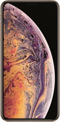 Смартфон Apple iPhone XS Max 64 Гб золотистый (MT522RU/A) смартфон apple iphone xs 64 гб серебристый mt9f2ru a