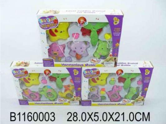 Купить Погремушка-подвеска Shantou B1160003B1160003, цвет в ассортименте, унисекс, Погремушки и прорезыватели