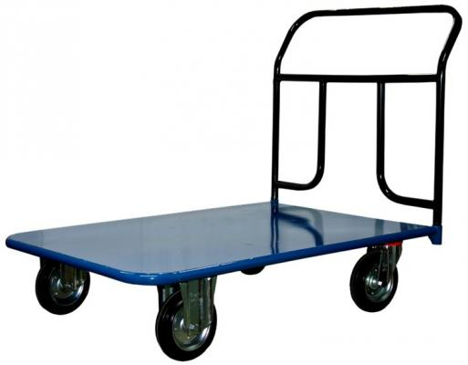 все цены на Тележка СТЕЛЛА КП-450 700х1250 200-K платформенная 4 колеса онлайн