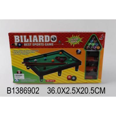 Купить Настольная игра Shantou бильярд 6874, 21 x 36 x 3 см, Спортивные настольные игры