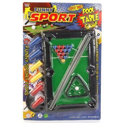 Купить Настольная игра Shantou бильярд HT99037, 2 x 32 x 21 см, Спортивные настольные игры