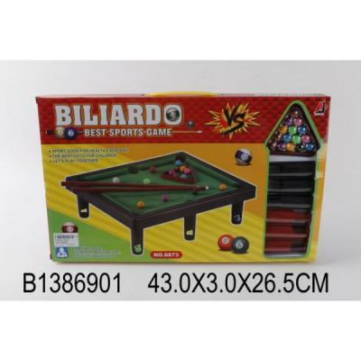 Купить Настольная игра Shantou бильярд 6873, 27 x 43 x 3 см, Спортивные настольные игры