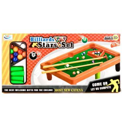 Настольная игра Shantou бильярд J676B игра настольная бильярд 28х44см