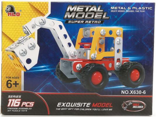Металлический конструктор Shantou B1644101 116 элементов конструктор металлический грузовик и трактор 345 элементов
