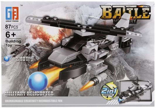 Конструктор Shantou B1533136 87 элементов конструктор shantou трактор 85 элементов