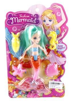 Купить Кукла Shantou Русалка Fashion Mermaid в ассортименте, пластик, текстиль, Классические куклы и пупсы