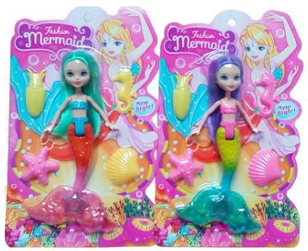 Кукла Shantou Модная русалочка 18 см в ассортименте