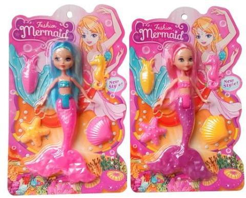 Купить Кукла Shantou Fashion Mermaid в ассортименте, пластик, текстиль, Классические куклы и пупсы