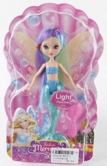 Купить Кукла Shantou Русалка Fashion светящаяся в ассортименте, пластик, Классические куклы и пупсы