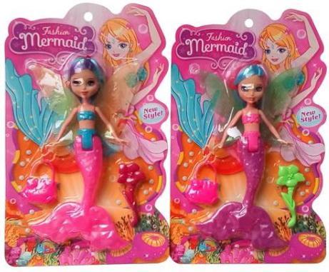 Купить Кукла Shantou Fashion Mermaid в ассортименте, ПВХ, текстиль, пластик, Классические куклы и пупсы