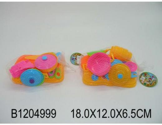 Набор посуды Shantou Gepai B1204999 пластик набор посуды shantou gepai с плитой медвежонок nf685 29