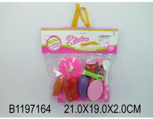 Набор продуктов Shantou Gepai Mini Cooking World пластик mini world mn202